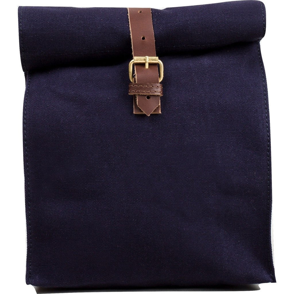United By Blue Canvas Lunch Bag | Navy LUNCHBAG-NV