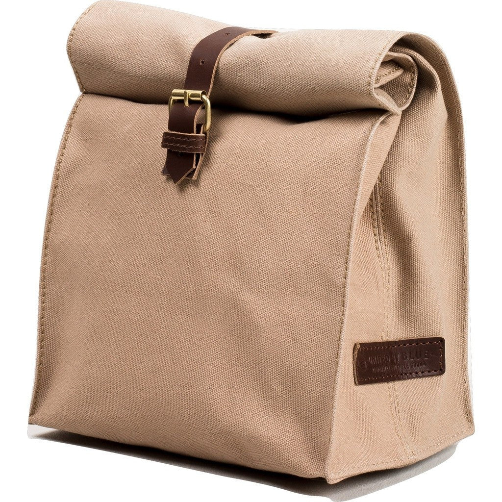 United By Blue Canvas Lunch Bag | Tan LUNCHBAG-TN