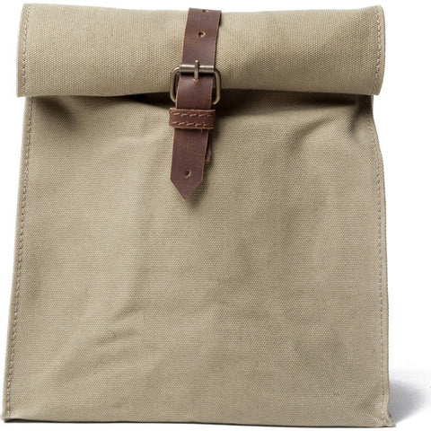 United By Blue Canvas Lunch Bag | Khaki