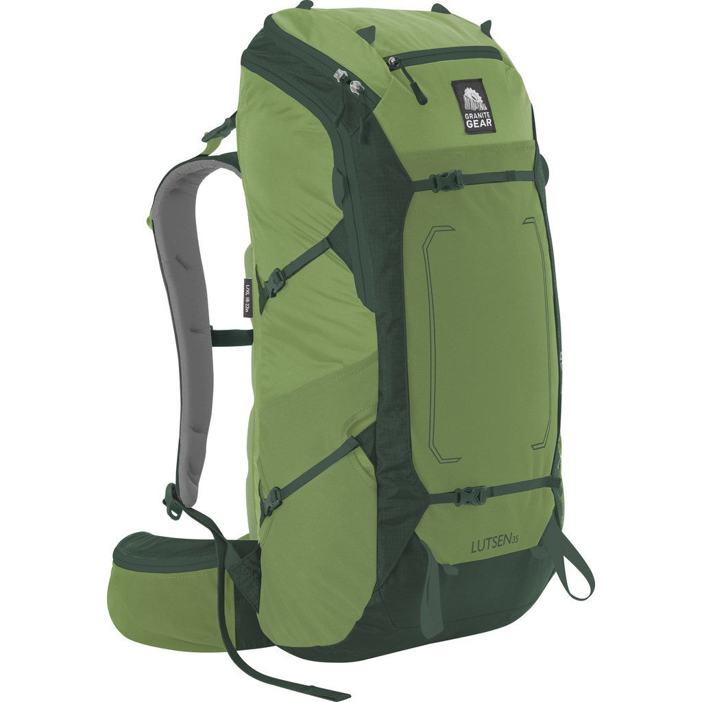 Granite Gear Lutsen 35 Multi-Day Pack | Moss/Boreal 5000001-4012/5000004-4012Ê