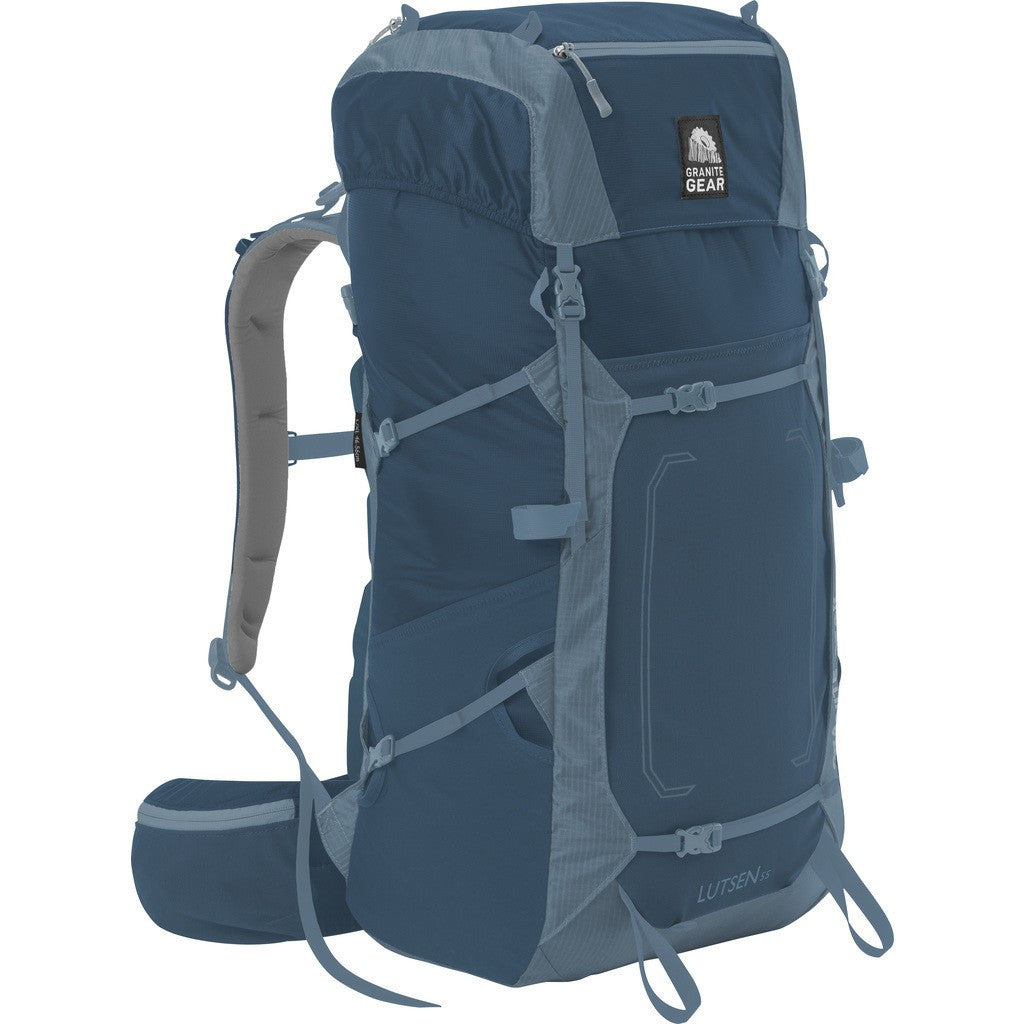 Granite Gear Lutsen 55 Multi-Day Pack | Basalt/Rodin 5000003-5011/5000006-5011Ê