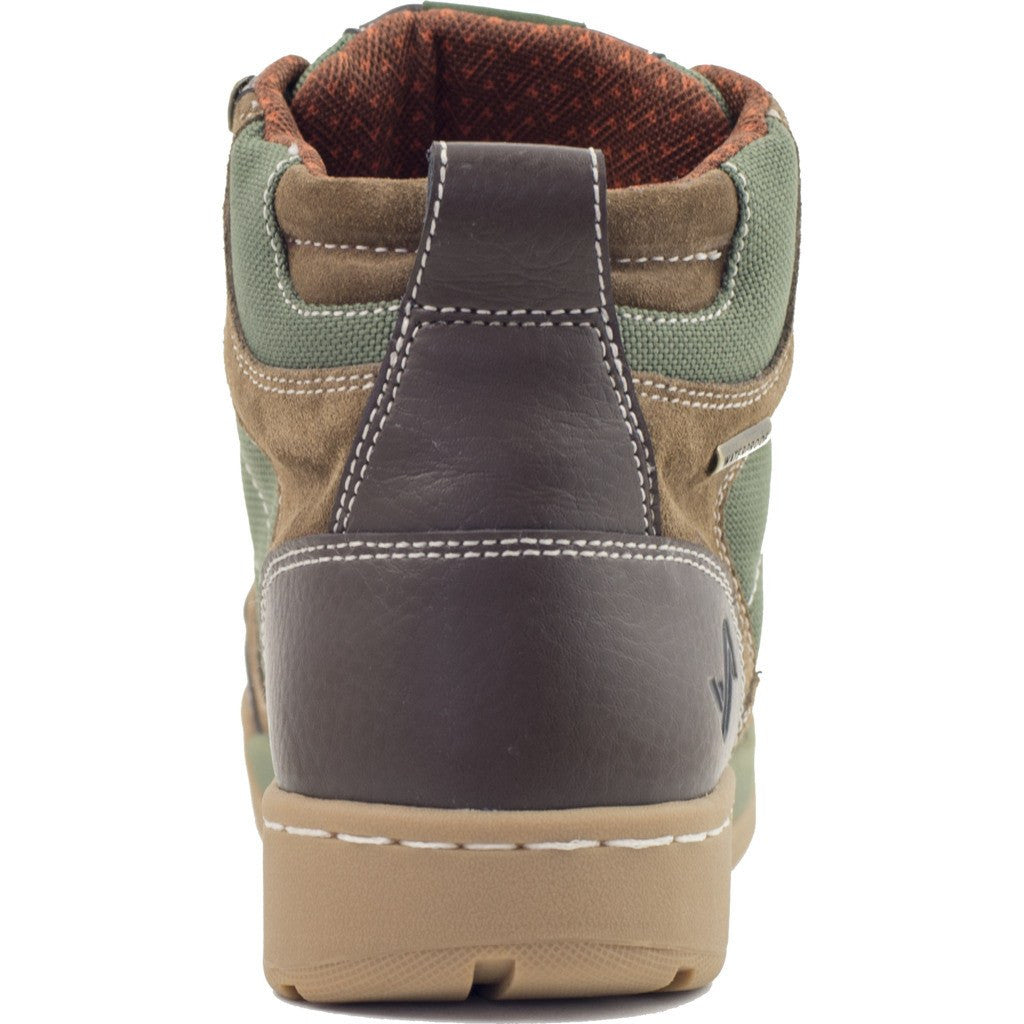 Forsake Mens Hiker Boots | Brown/Green MFW16H1