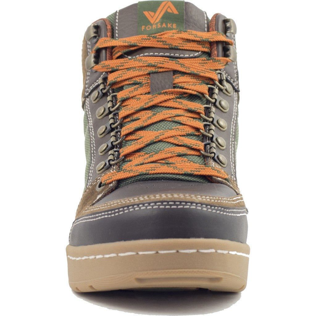 Forsake Mens Hiker Boots | Brown/Green MFW16H3