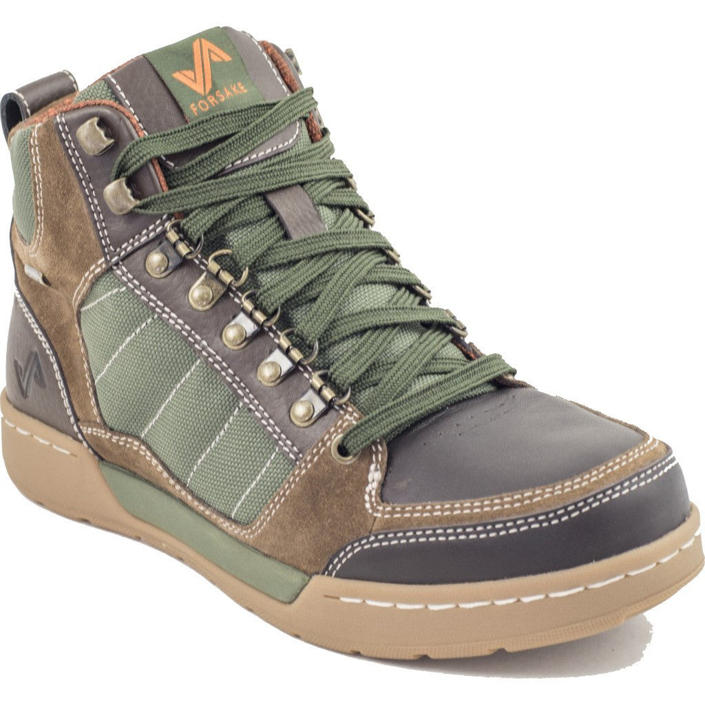 Forsake Mens Hiker Boots | Brown/Green MFW16H4