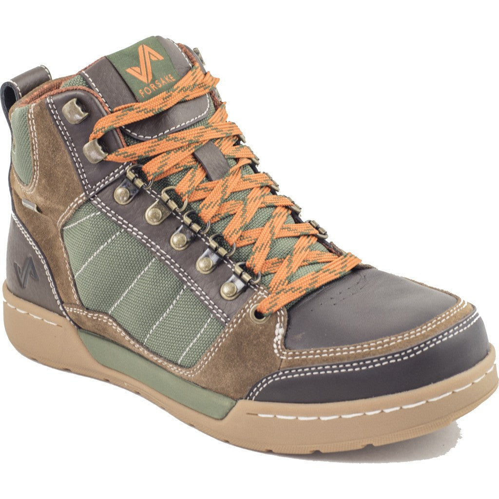 Forsake Mens Hiker Boots | Brown/Green MFW16H5