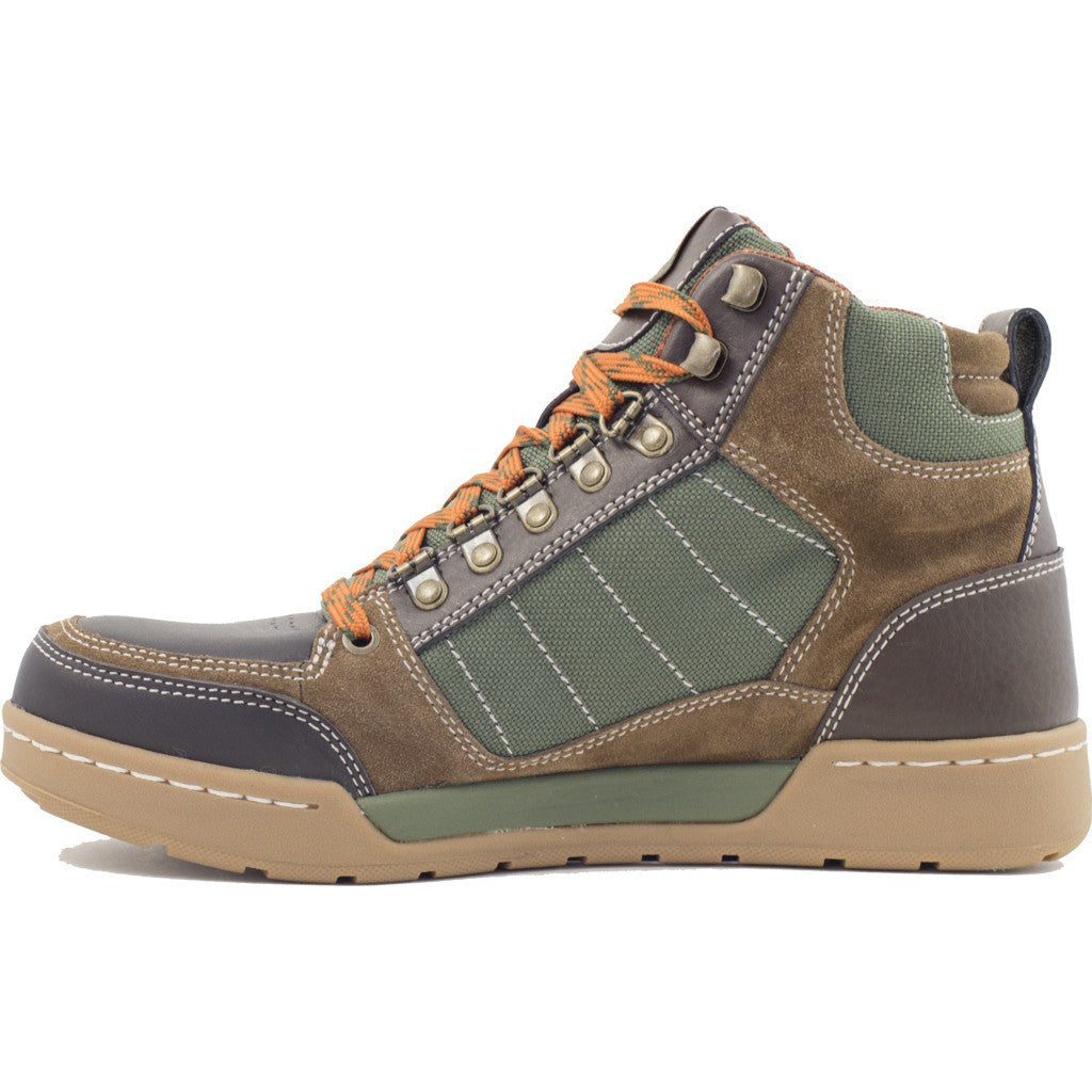 Forsake Mens Hiker Boots | Brown/Green MFW16H6