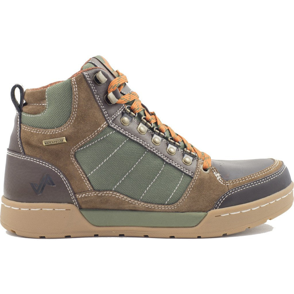 Forsake Mens Hiker Boots | Brown/Green MFW16H7