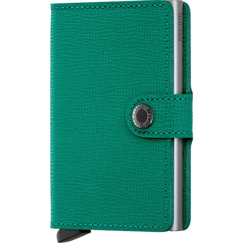 Secrid Mini Wallet Crisple | Emerald