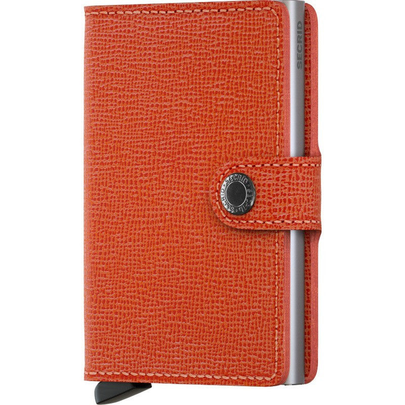 Secrid Mini Wallet Crisple | Orange
