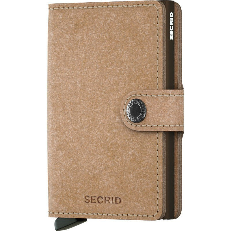 Secrid Mini Wallet | Recycled Natural MR-Natural