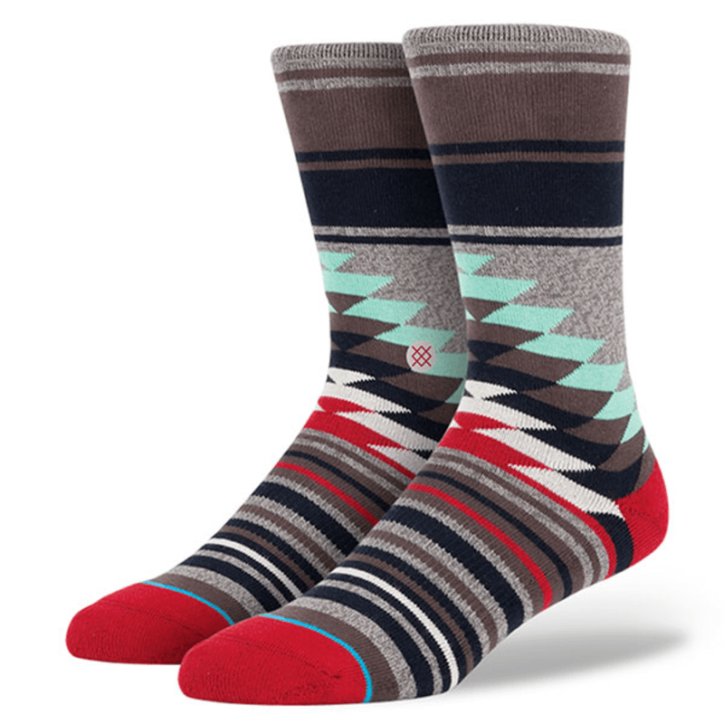 Stance Men's Laredo Socks | Heather Grey L/XL