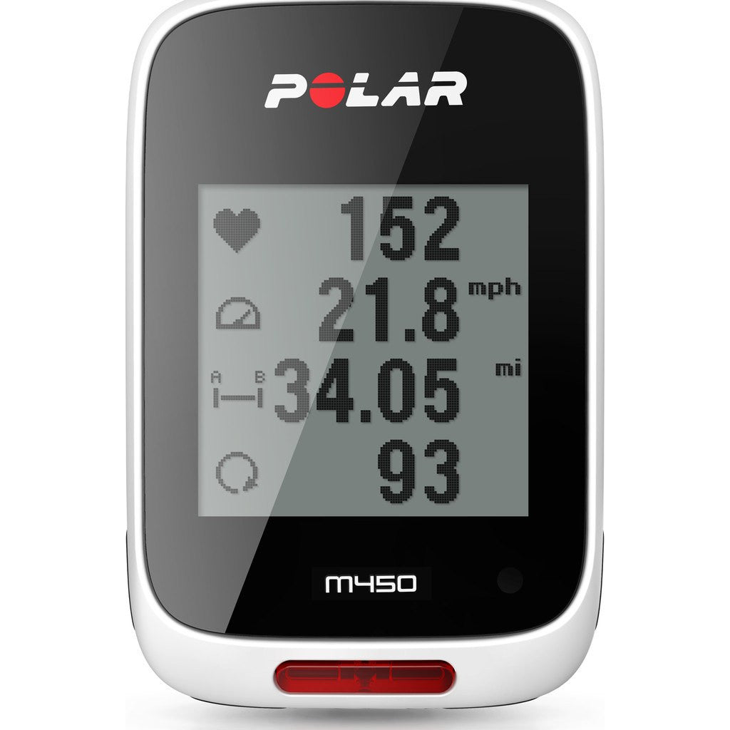 Polar M450 HR Bike Computer and Mount Bundle | Special Edition