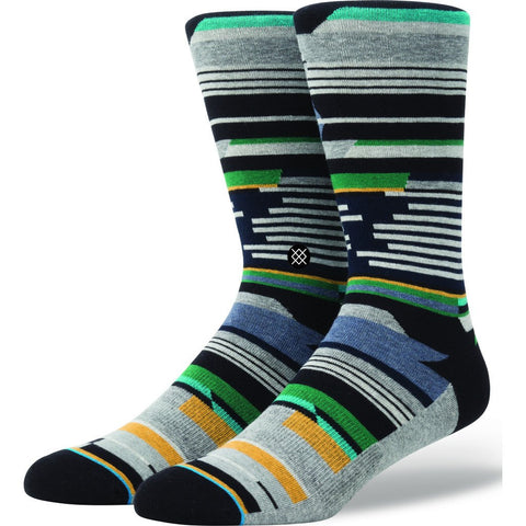 Stance Subway Men's Socks | Multicolor Large M545B16SUB
