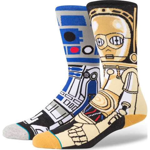 Stance Droid Men's Socks | Blue Large M545D15DRO