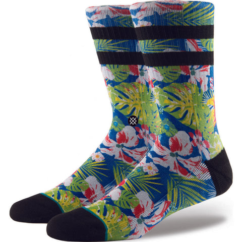 Stance Cannons Men's Socks | Blue M- M556C17CAN