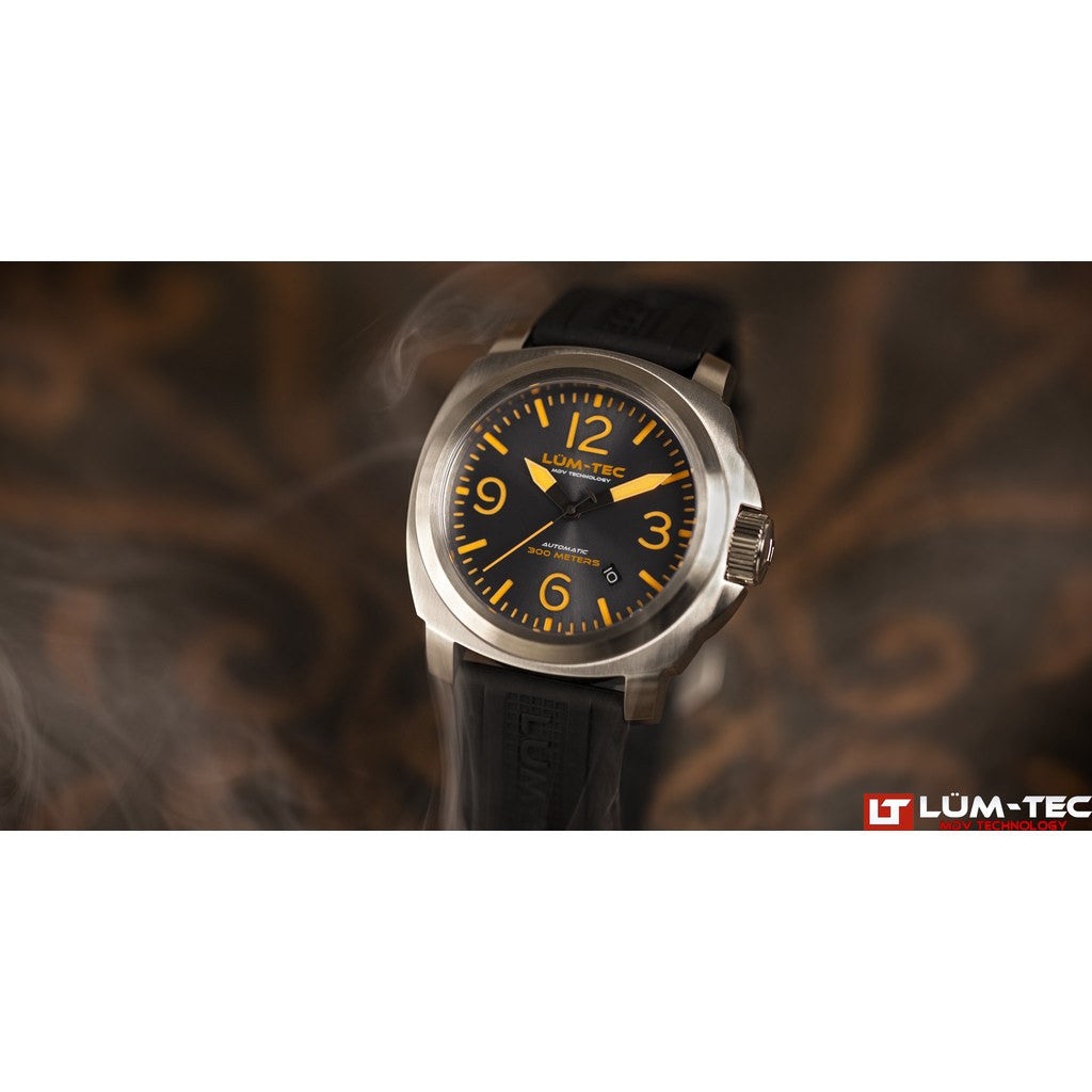 Lum-Tec M68 Automatic Watch | Leather Strap