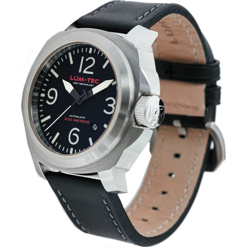 Lum-Tec M69 Automatic Watch | Leather Strap