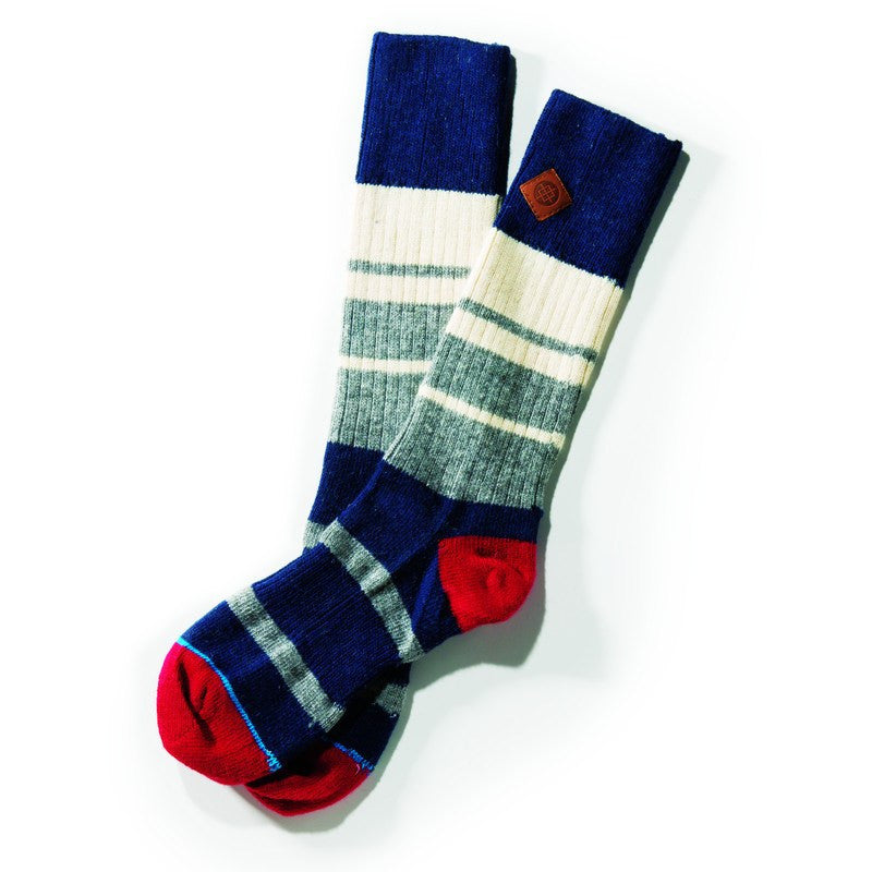 Stance Grant Men's Socks | Navy L/XL