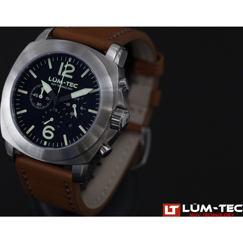Lum-Tec M71 Watch | Leather Strap