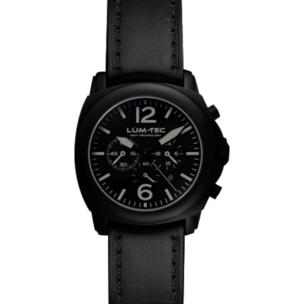 Lum-Tec M72-S Watch | Leather Strap