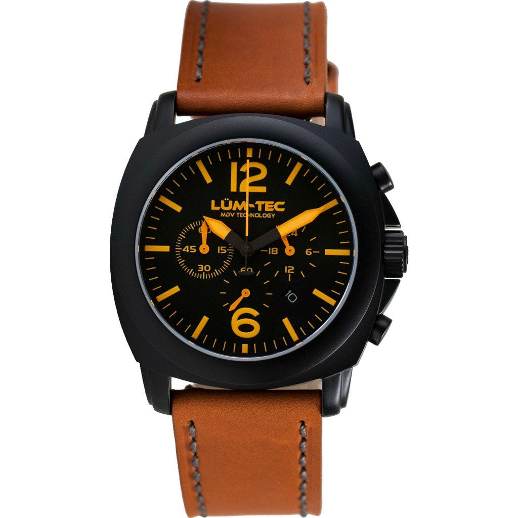 Lum-Tec M73-S Watch | Leather Strap