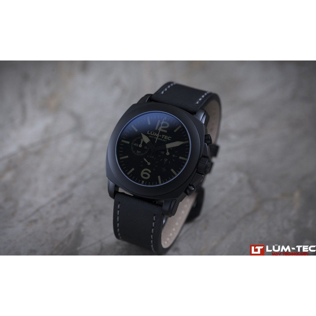 Lum-Tec M74 Phantom Watch | Leather Strap