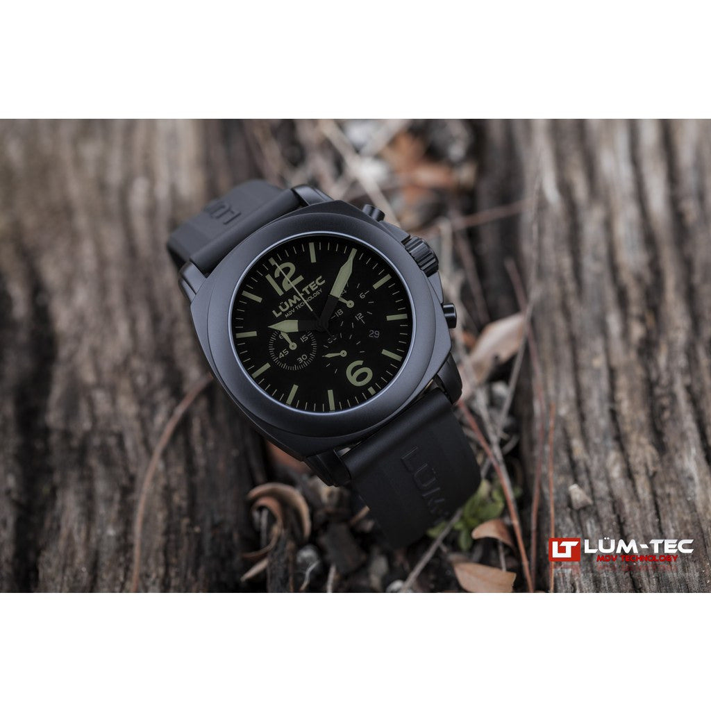 Lum-Tec M74-S Phantom Watch | Leather Strap