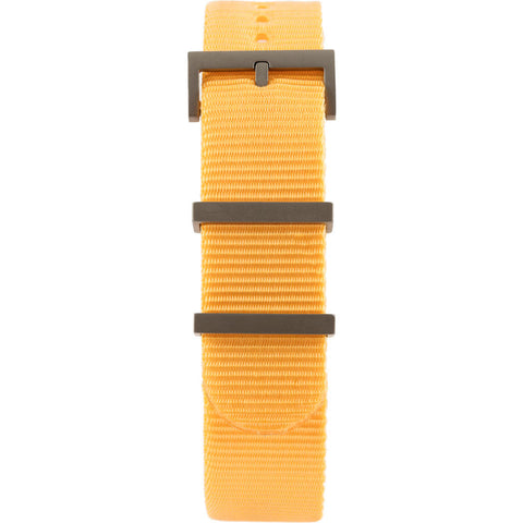 Minus-8 Anza Washed Orange Nylon Watch Strap | Sand Hardware P024-017-Strap-O
