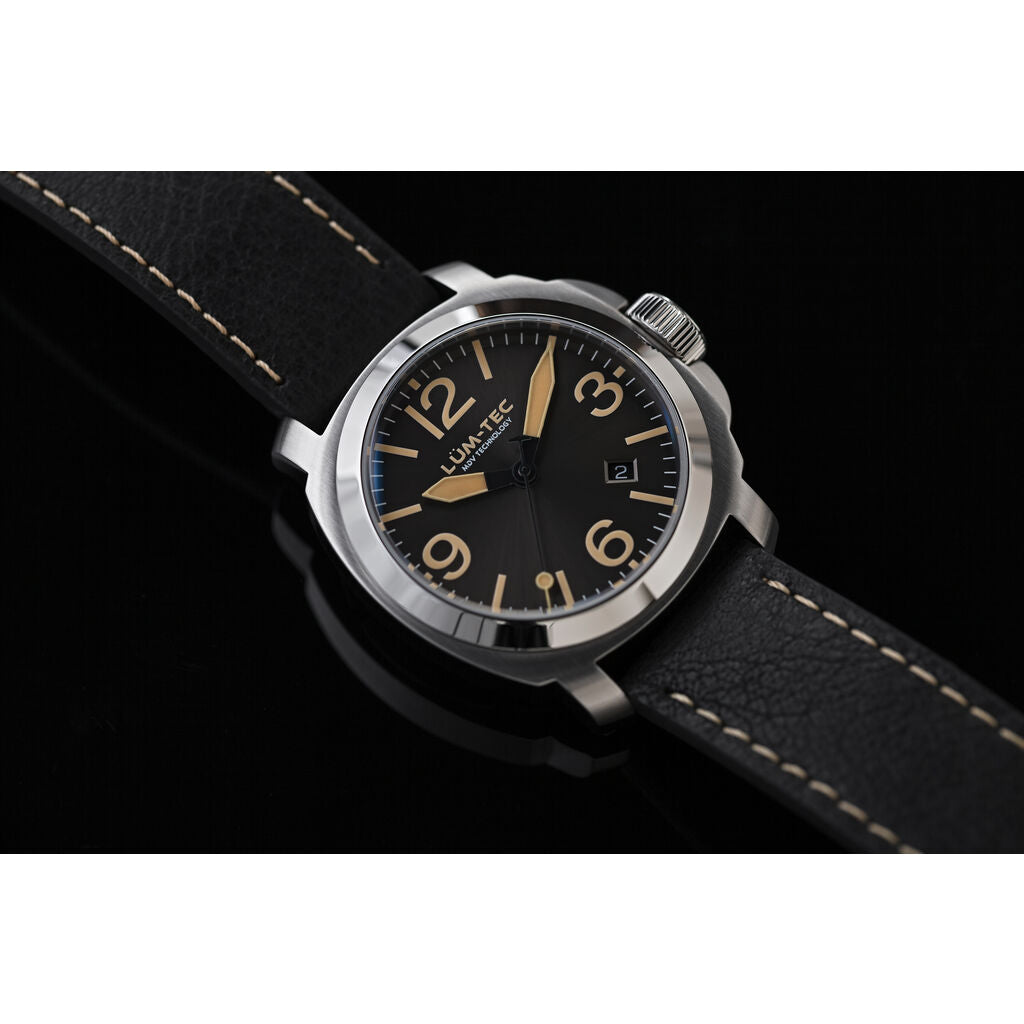 Lum-Tec M82 Automatic 42mm Watch | Leather