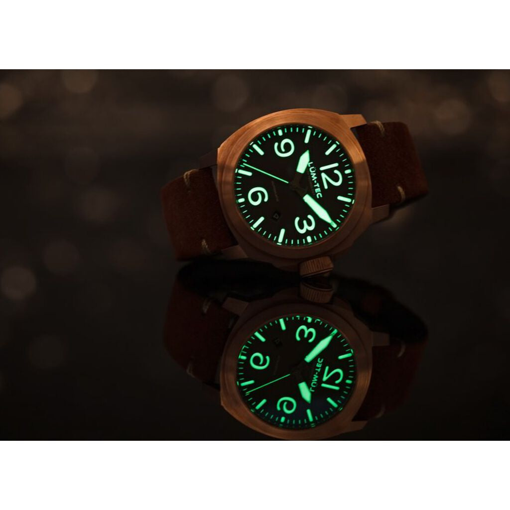 Lum-Tec M83 Bronze Automatic Watch