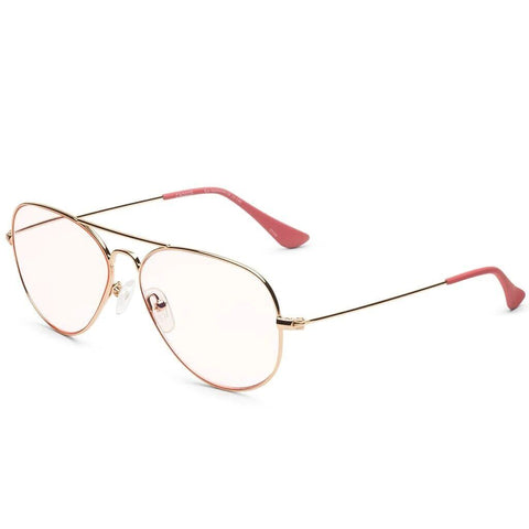 Caddis Mabuhay Sunglass Rx Readers | Polished Gold Rose