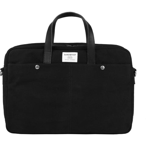 Sandqvist MATS Briefcase | Waxed Black SQA749
