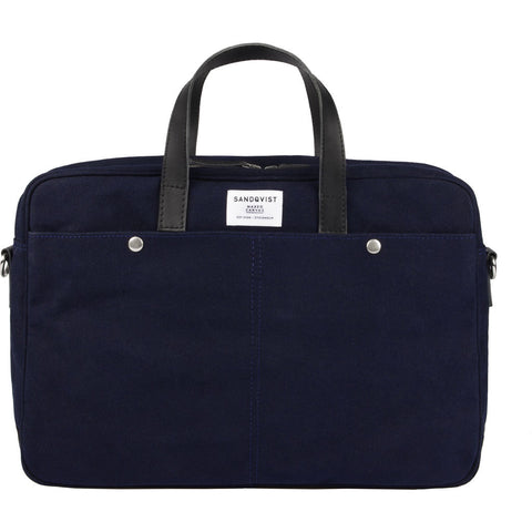 Sandqvist MATS Briefcase | Waxed Blue SQA750