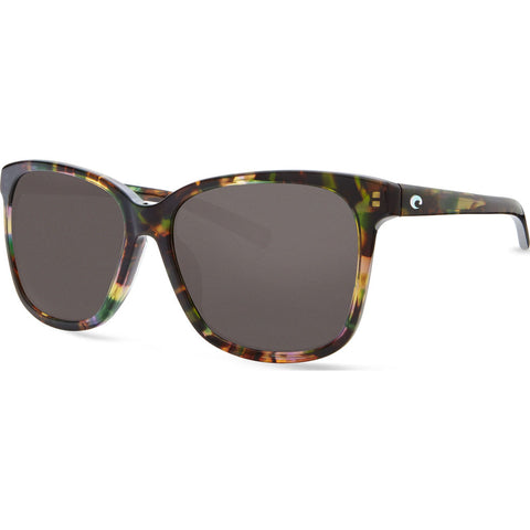 Costa May Shiny Abalone Sunglasses | Gray 580G