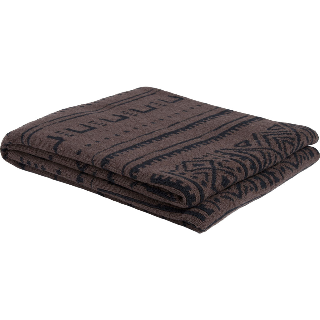 in2green Reversible Mudcloth Throw | Coffee/Black BL02RMC2