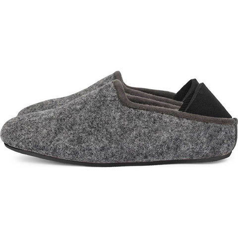 Mahabis Kids Slippers | Larvik Dark Grey/Skien Black size 28 MC-K-28-DG-SB