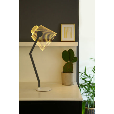 Studio Cheha Media LED Table Lamp | Iron/Birch Ch-Media