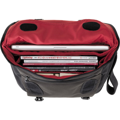 Crumpler Moderate Embarrassment Laptop Messenger Bag | Black MET003-B00130