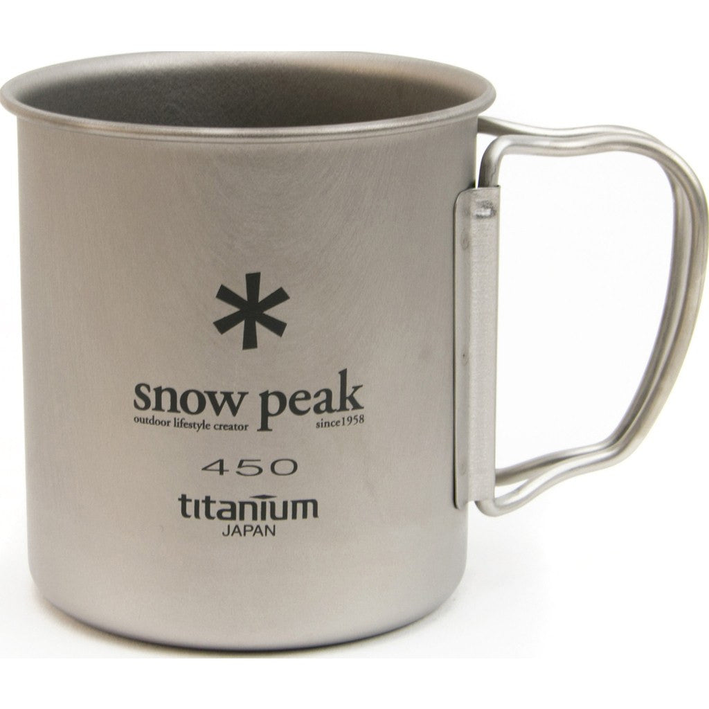 Snow Peak Ti-Single 450 Cup | Titanium MG-043R
