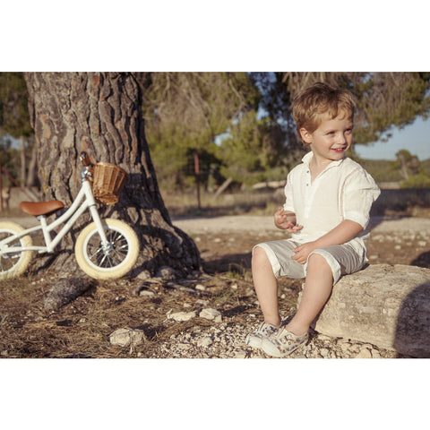 Banwood First Go! Kid's Balance Bike | White- Bw-F1G-White