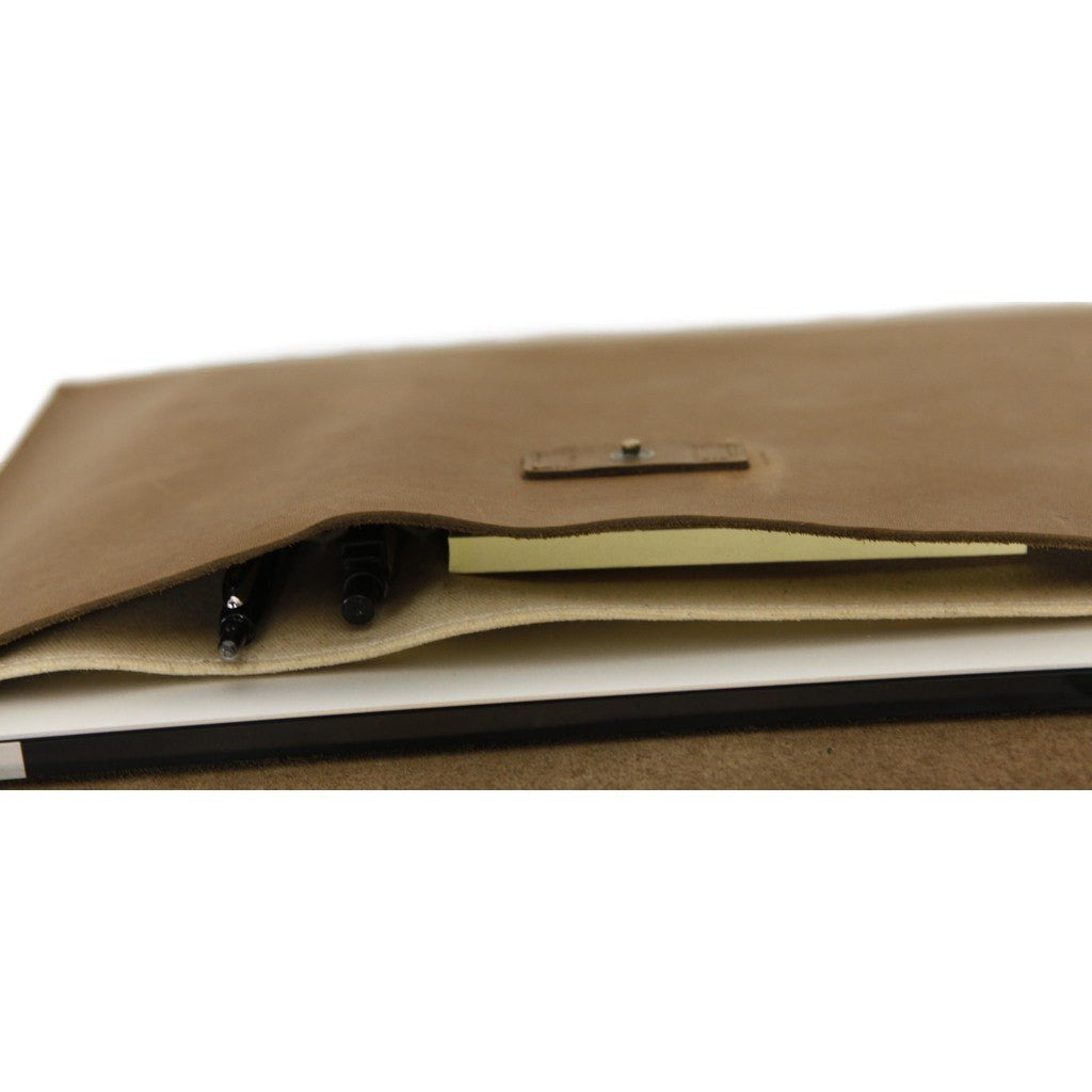 "DODOcase Leather 13"" Laptop Portfolio 