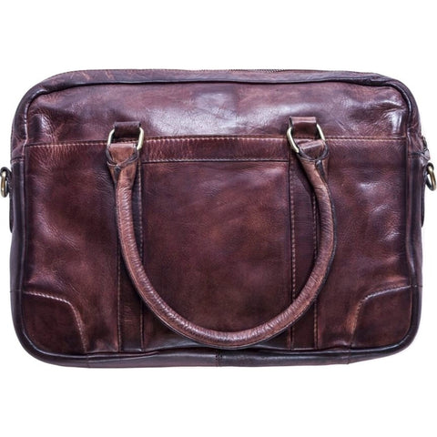 Kiko Leather Sleek Brief | Brown