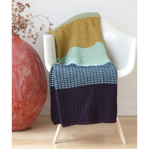 Stacy Garcia Stitch Stripe Eco Throw | Multi-color- SG-TX03