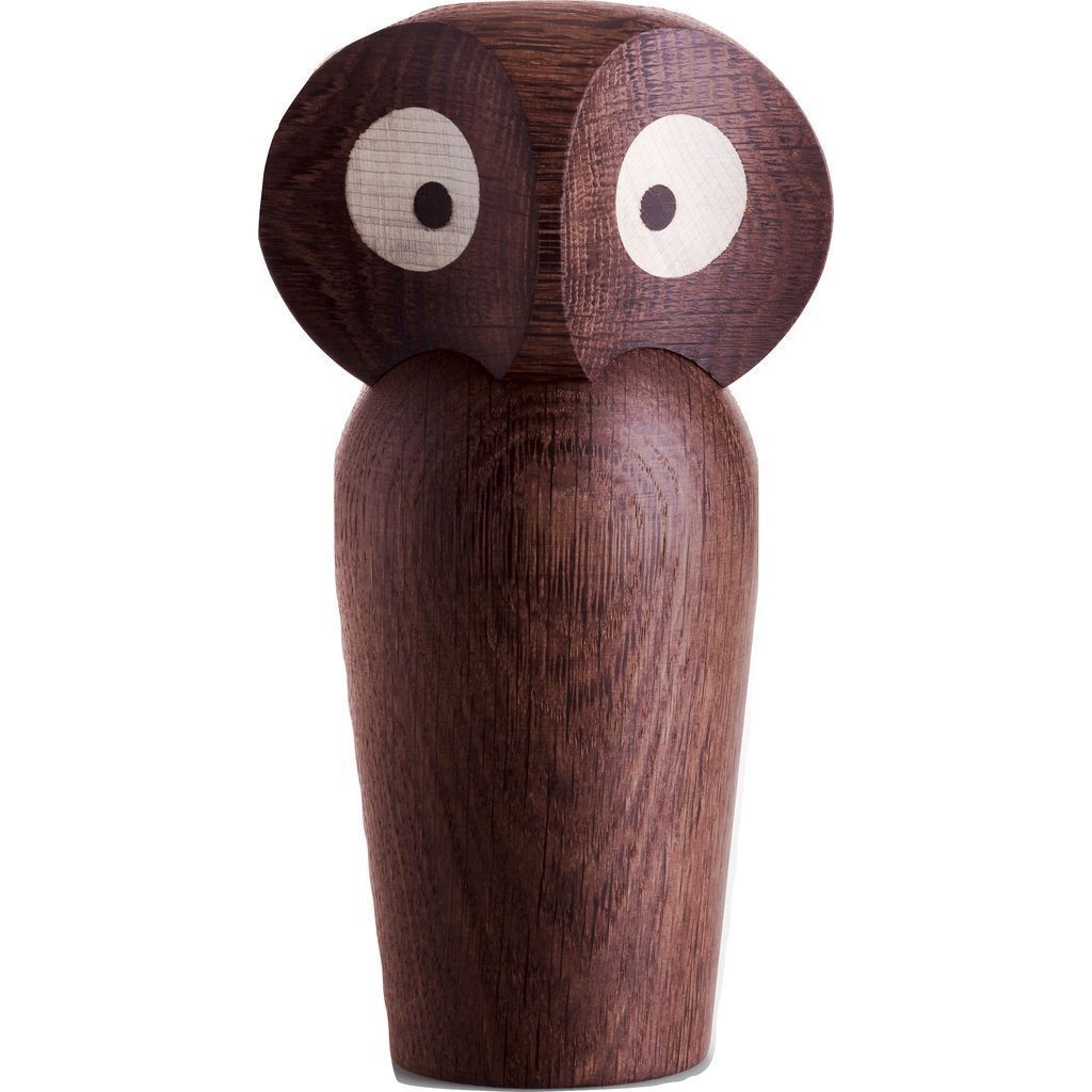 Architectmade Wooden Owl | Smoked
