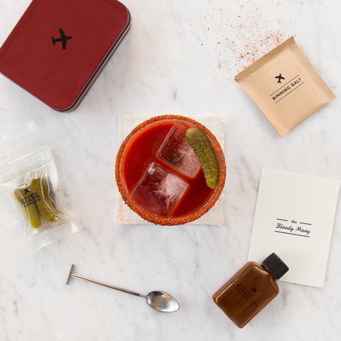 W&P Design Carry-on Cocktail Kit | Bloody Mary MAS-CARRYKIT-BM