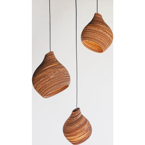 Graypants Scraplight Hive15 Pendant | Natural
