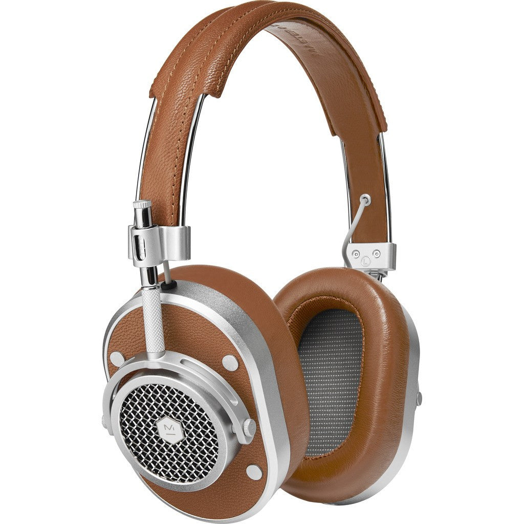 Master & Dynamic MH40 Over-Ear Headphones | Brown/Silver