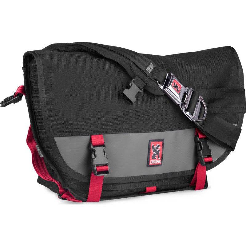 Chrome Mini Metro Ltd Messenger Bag | Black/Wrench/Red