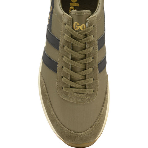 Gola Men's Montreal Sneakers | Khaki Black