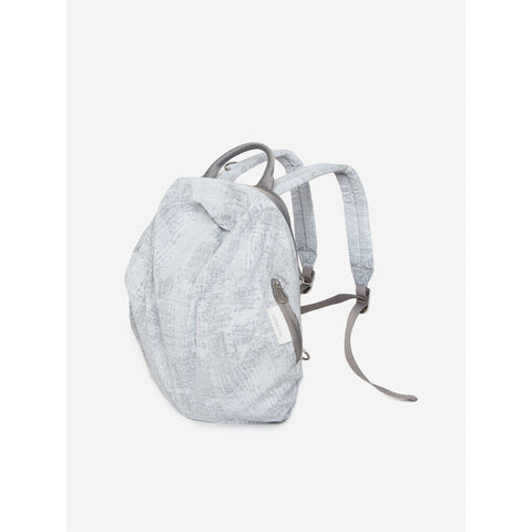 Cote & Ciel Moselle Creased Backpack | Light Grey